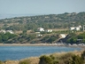 View to villa from lovely bay nr Villa Aphrodite