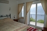 Double bedroom with sea view balconny
