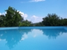 Villa Rosaspina: View of Umbrian hills from the private pool