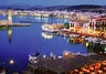 Rethymno - the harbour at night