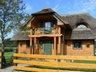 Click to enlarge Detached thatched country house with large enclosed garden in Bojano,Pomerania